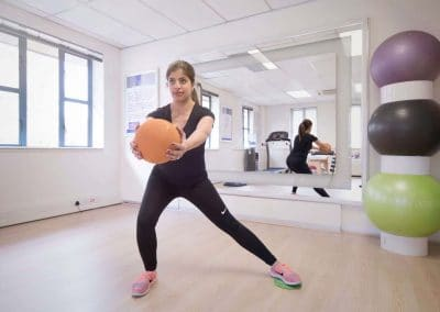 Biokinetics exercise training