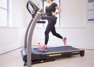 Biokinetics training -treadmill