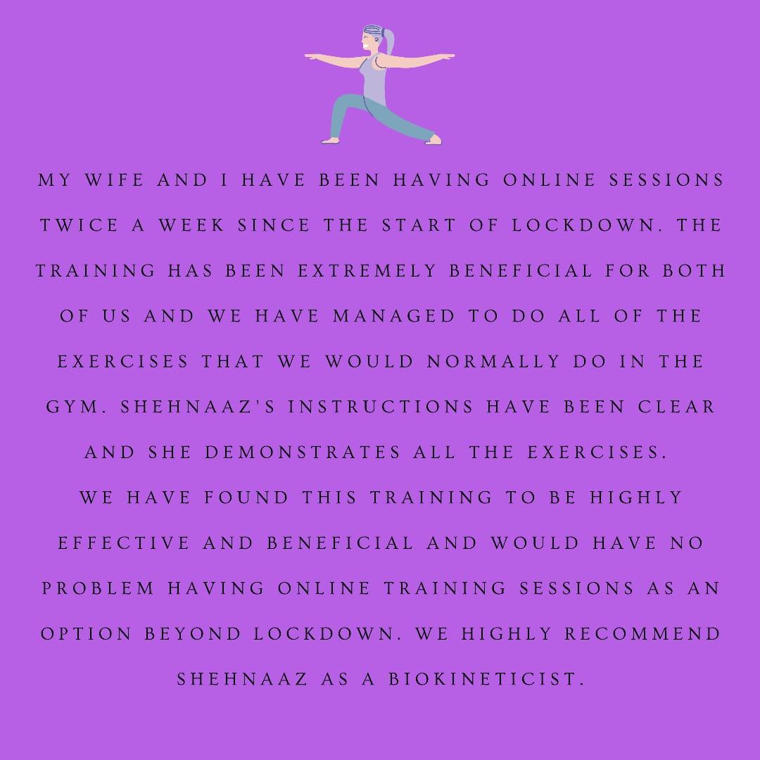 Teletherapy testimonial